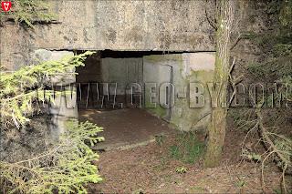 Вход во второй немецкий бункер