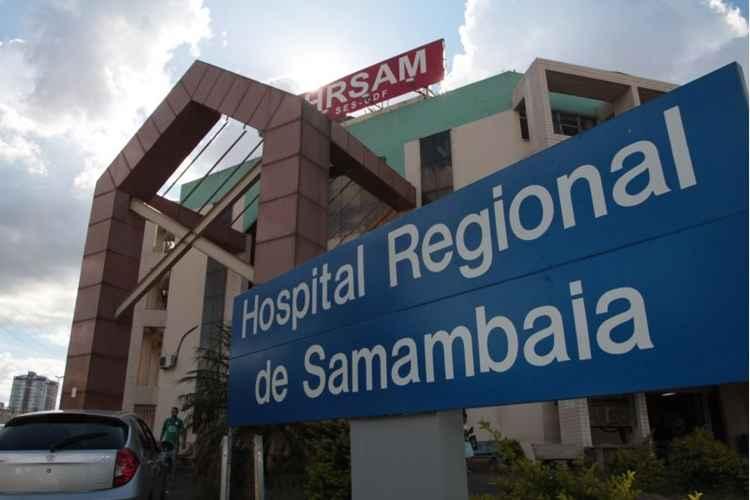 Resultado de imagem para HOSPITAL DE SAMAMBAIA