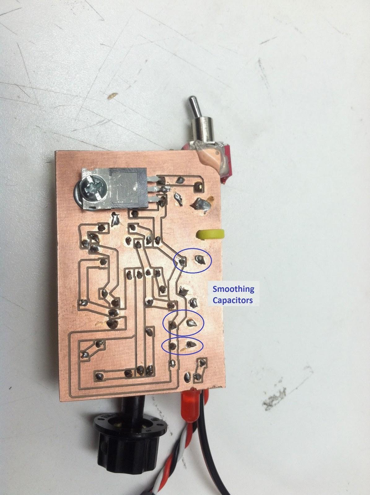 Servo Tester Using 555 Timer Circuit Diagram