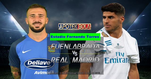 Fuenlabrada vs Real Madrid 27 Oktober 2017