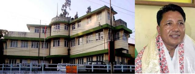 Kalimpong Municipality chairman Suva Pradhan