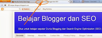 Cara Ganti Gambar Favicon Blogger (Icon kecil di Address bar)