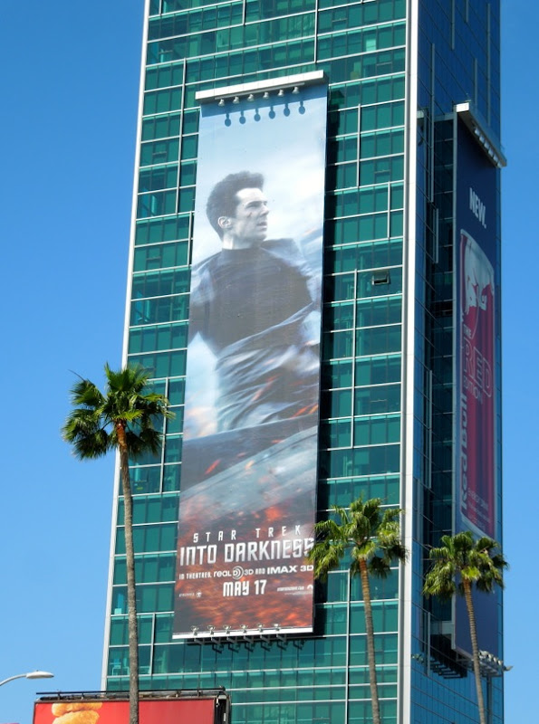 Benedict Cumberbatch Star Trek Into Darkness billboard