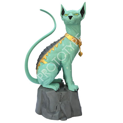 Saga Lying Cat Statue by Brian K. Vaughn, Fiona Staples & Skybound