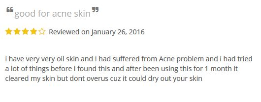 benzoyl peroxide for acne review 1