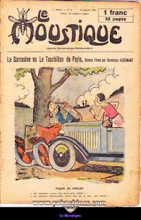 Le Moustique, Journal Humoristique Hebdomadaire, numéro 3, année 1931