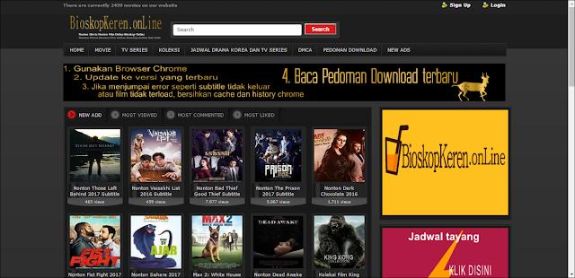 5 Tempat Nonton Film Subtitle Indonesia