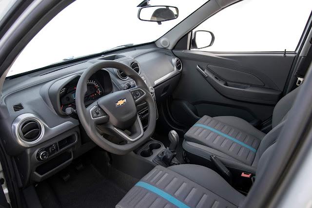 Chevrolet Montana 2019 - interior