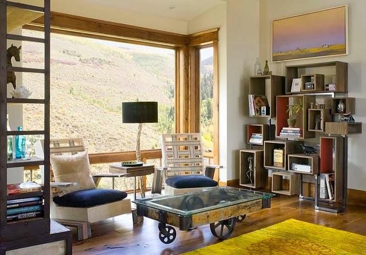 Casa en una montaña1