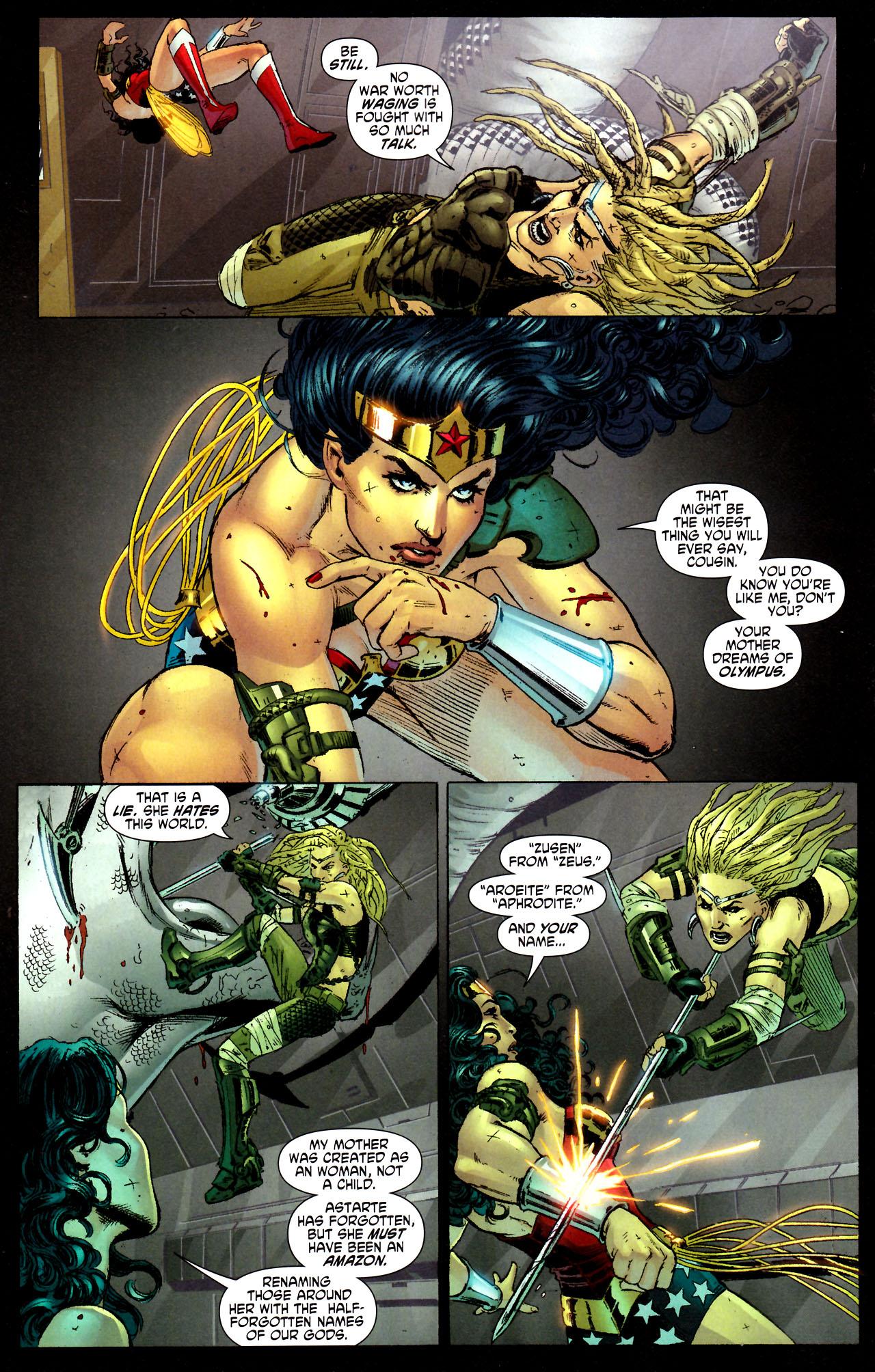 Read online Wonder Woman (2006) comic -  Issue #44 - 12