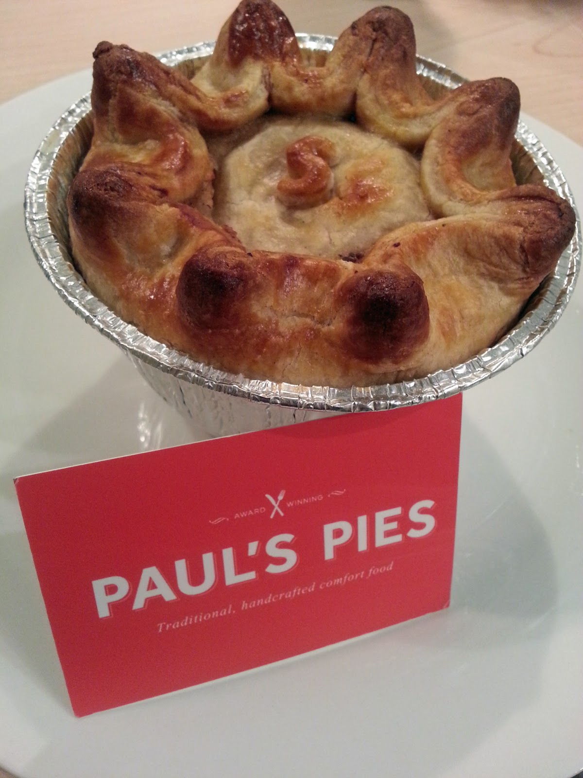 Pierate - Pie Reviews: Pies from Paul, it's Paul's Pies