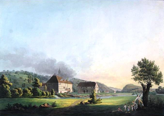 Landschaftsmalerei romantik friedrich  Caspar David Friedrich Kalender: 2017-10-08