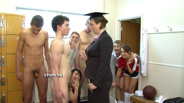 cfnm locker room videos