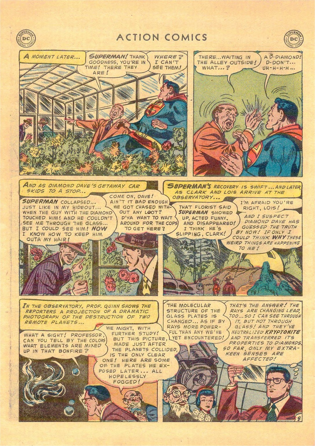 Read online Action Comics (1938) comic -  Issue #181 - 9