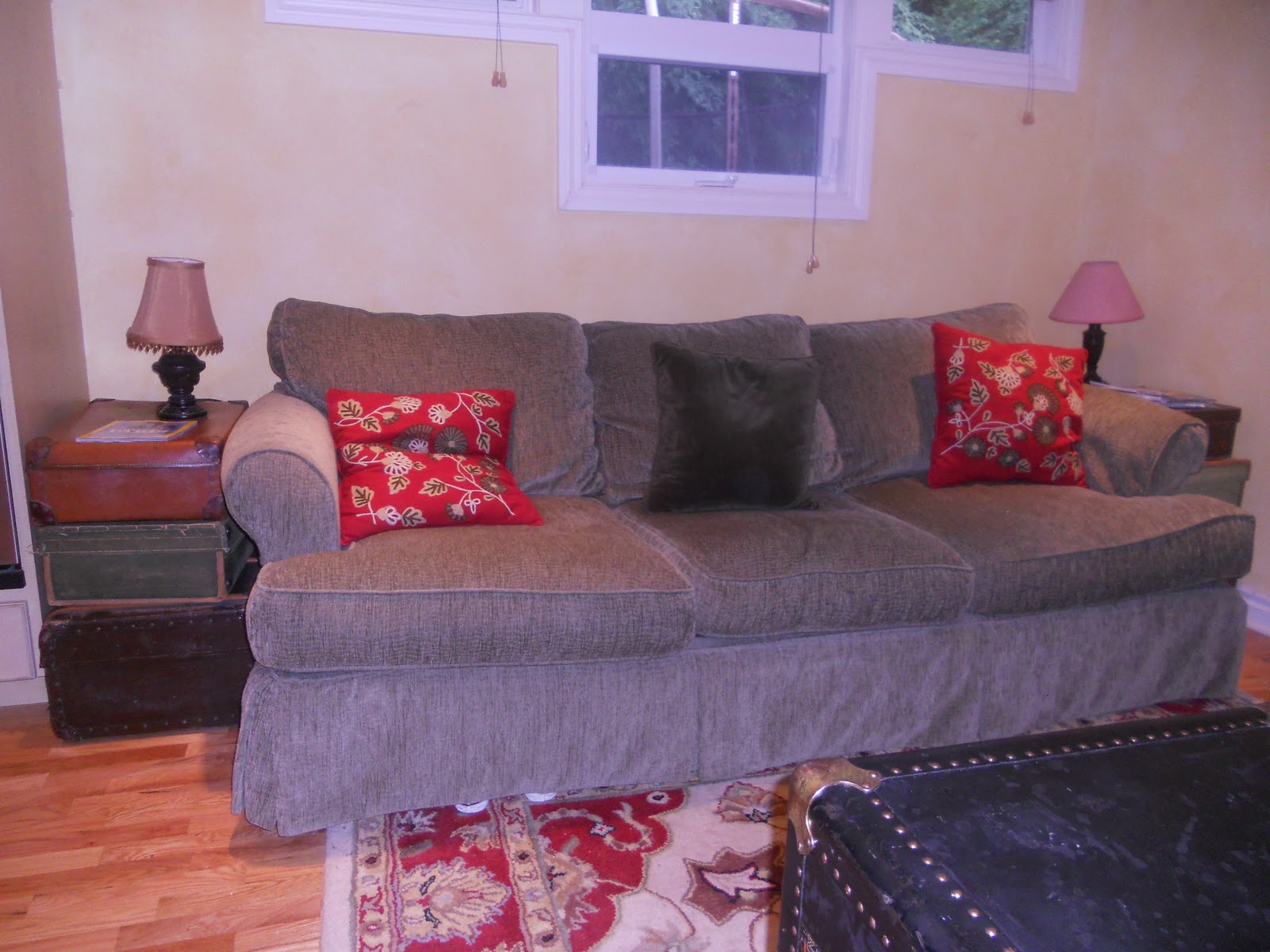 Fundamentals and Fripperies New to Us Sofas AND Craigslist