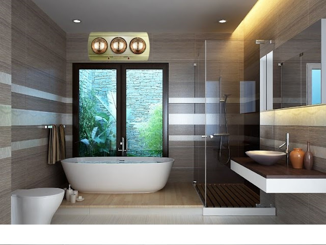 Cách chọn đèn sưởi nhà tắm Ninh Bình tốt nhất cho gia đình