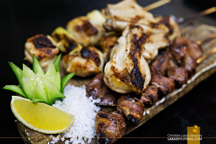 Hatsu Hana-Tei Makati Chicken Yakitori