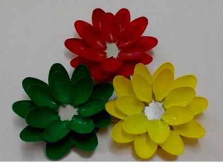 Aprende c mo hacer adornos para el hogar con cucharas de for Como hacer adornos decorativos para el hogar