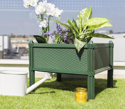 Mesa de cultivo en terraza