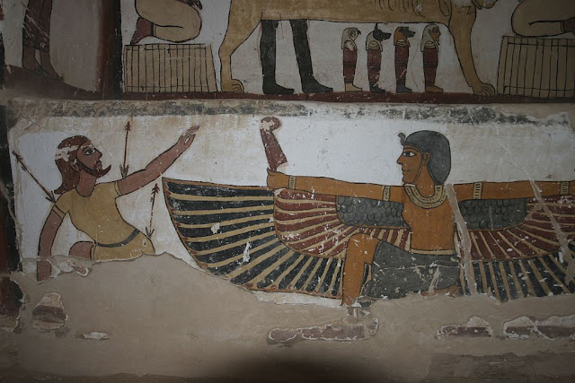 Paintings from the tomb of Petosiris at Muzawaka (VII)