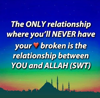 Relationship between you and Allah quotes images