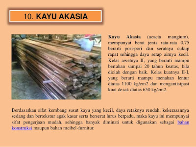 Pusat Kayu Akasia Berkualitas Di Bandung