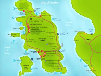4 Tempat Menarik Bercuti di Pulau Pangkor