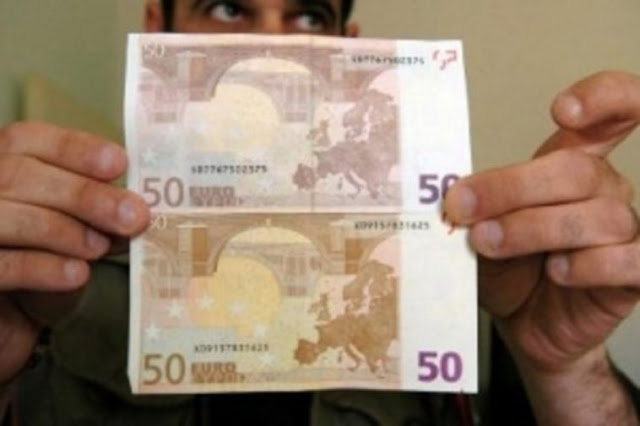 Γέμισε η Ελλάδα πλαστά χαρτονομισμάτα – Έτσι θα τα ξεχωρίσετε – Συμβουλές από την Αστυνομία