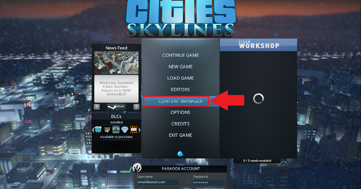 Cara Aktifkan Unlimited Money Di Game Cities Skylines