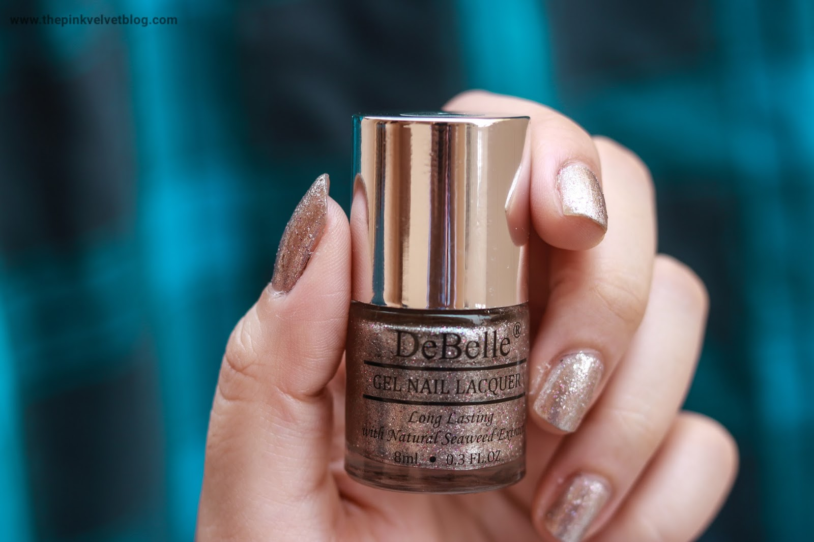 debelle gel nail paint sparkling dust