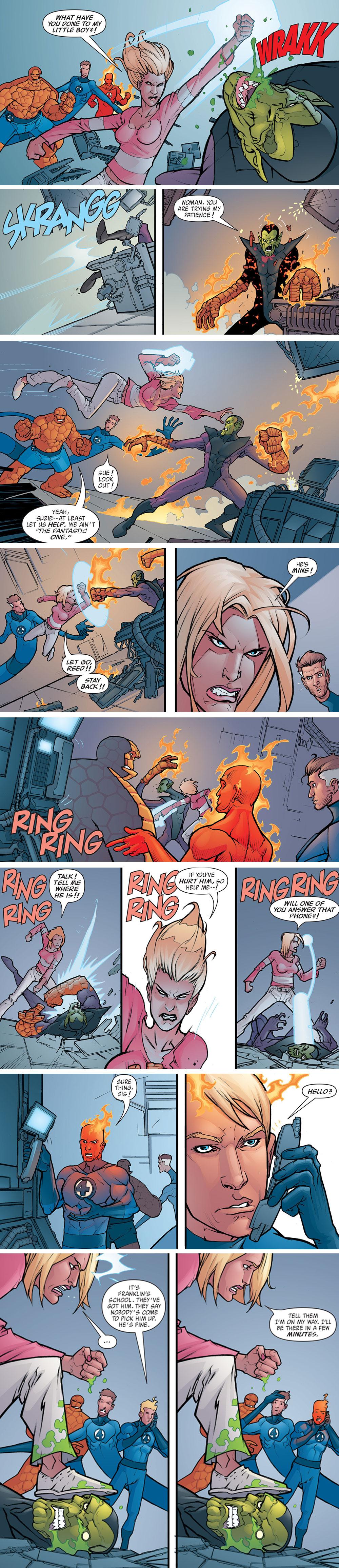 Fantastic Four: Foes #4 (2005)