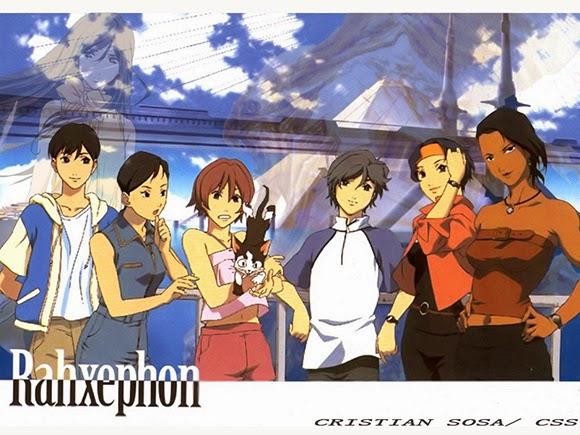 Rekomendasi anime Mecha - RahXephone