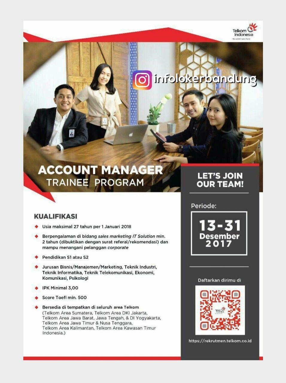 Lowongan Kerja PT. Telkom Indonesia Desember 2017