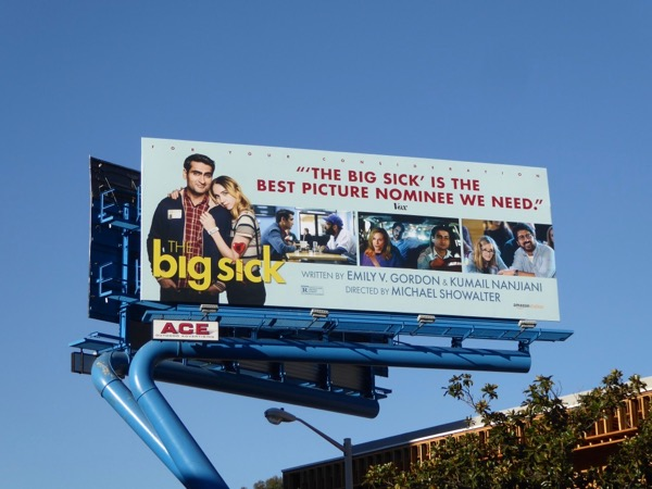 Big Sick movie FYC billboard