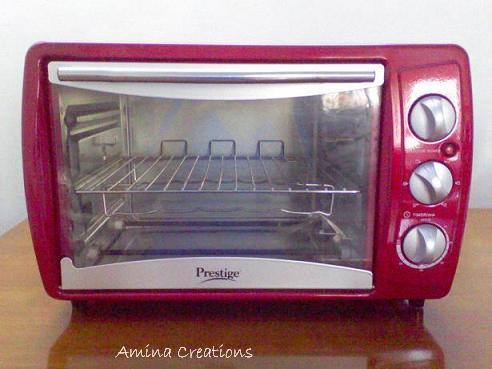 Amina Creations How To Use An Otg Oven