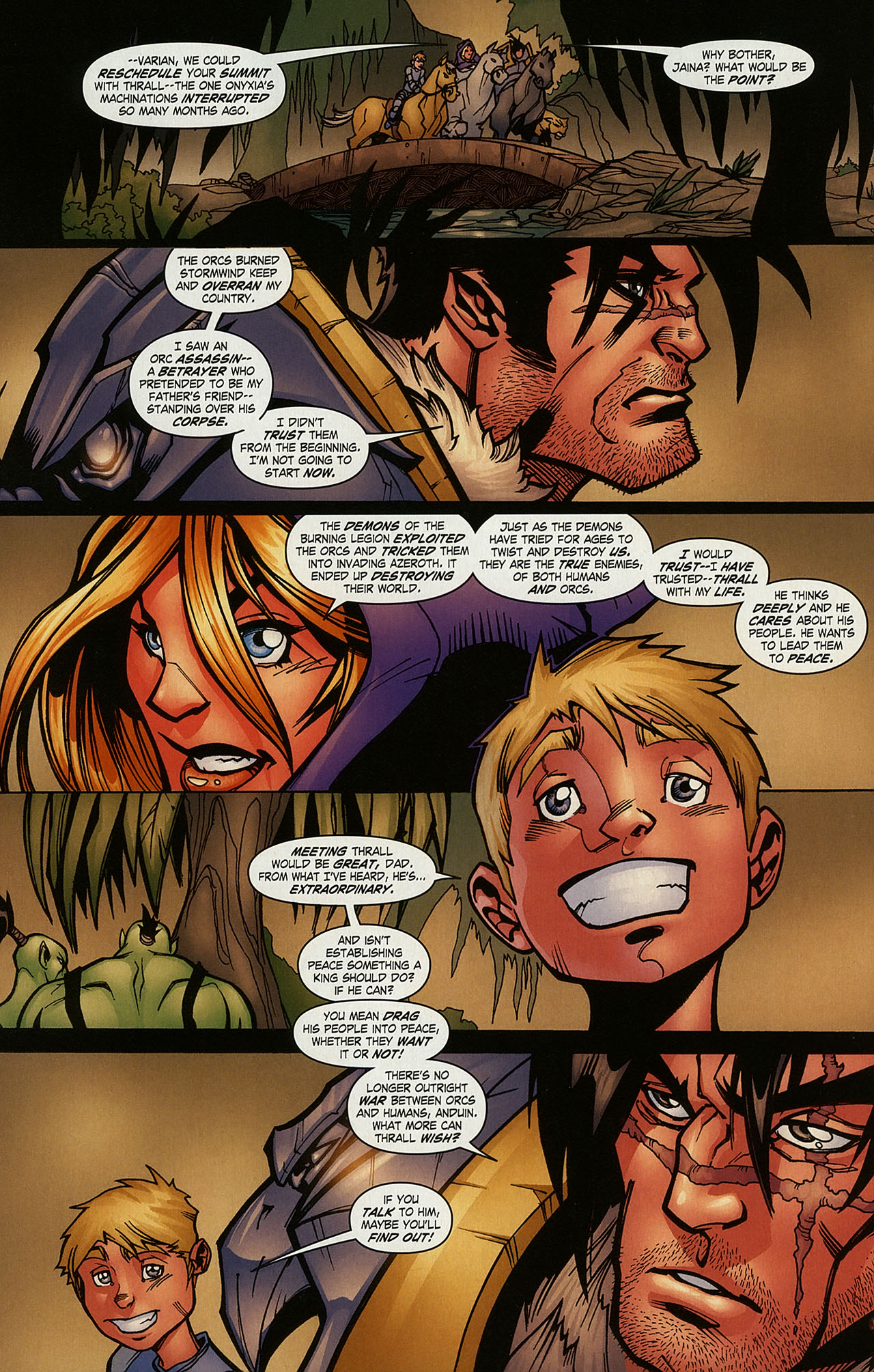 Read online World of Warcraft comic -  Issue #15 - 9