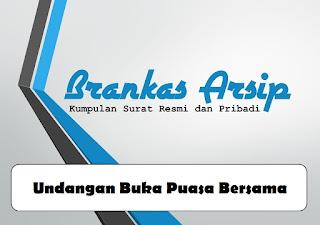logo postingan contoh surat undangan buka puasa bersama