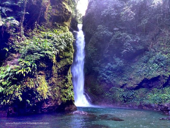 The majestic Ditumabo Falls in San Luis, Aurora