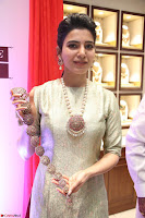 Samantha Ruth Prabhu in Cream Suit at Launch of NAC Jewelles Antique Exhibition 2.8.17 ~  Exclusive Celebrities Galleries 042.jpg
