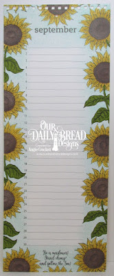 Our Daily Bread Designs Stamp Set: Be a Sunflower