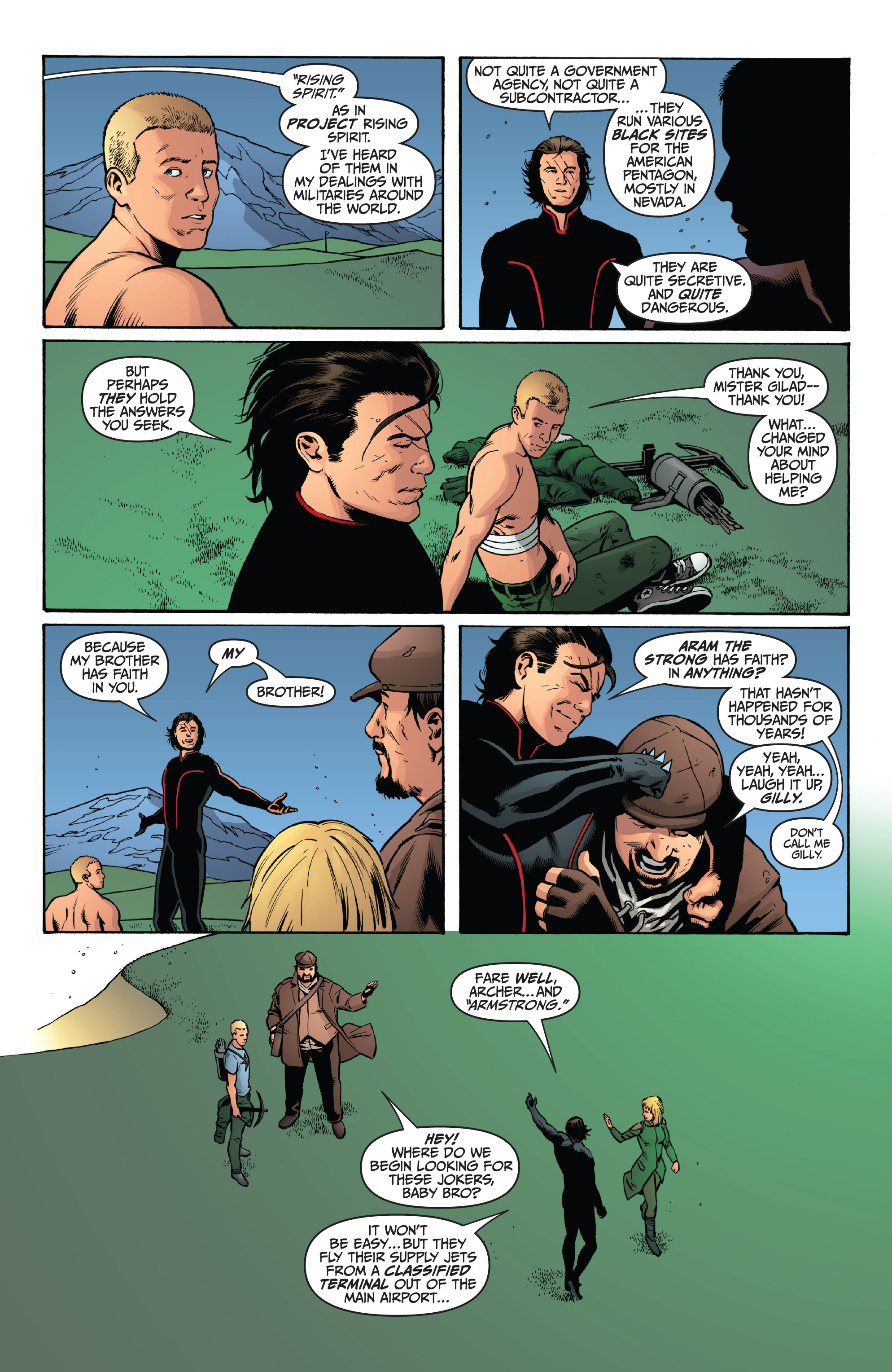 Read online Archer and Armstrong comic -  Issue #9 - 22