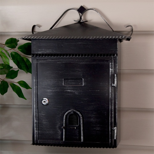 Lovely One Of The Most Unique Wall Mounted Mailboxes Iu0027ve Found Is Signature  Hardwareu0027s Rustico Wall Mount Locking Mailbox, Which Is Designed To Look  Like A House ...