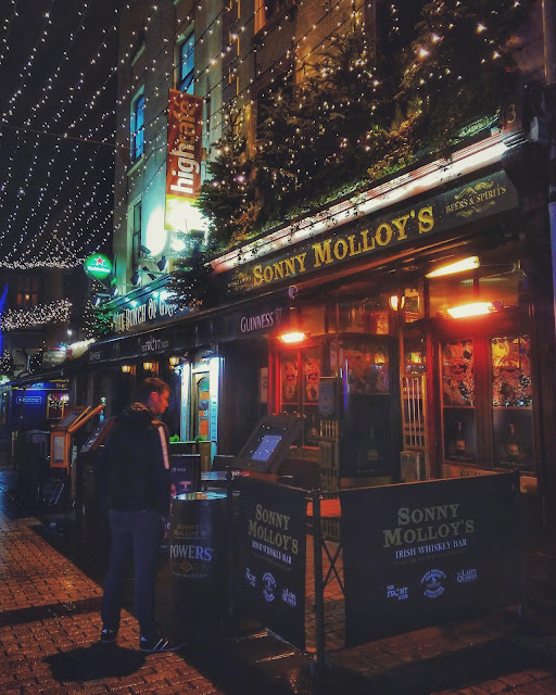 galway city at time at Christmas