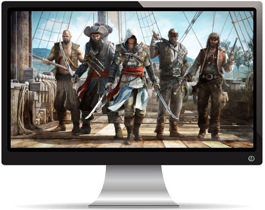 Assassin's Creed Black Flag Pirates - Fond d'écran en Quad HD