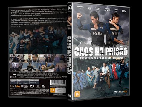 Capa DVD Caos na Prisão [Custom]