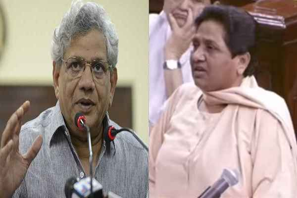 sitaram-yachury-told-bjp-ghamand-me-choor-hai-on-mayawati