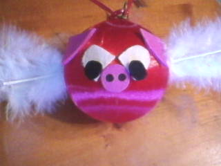 Pig Valentine Ornament for Classroom Craft for Kids