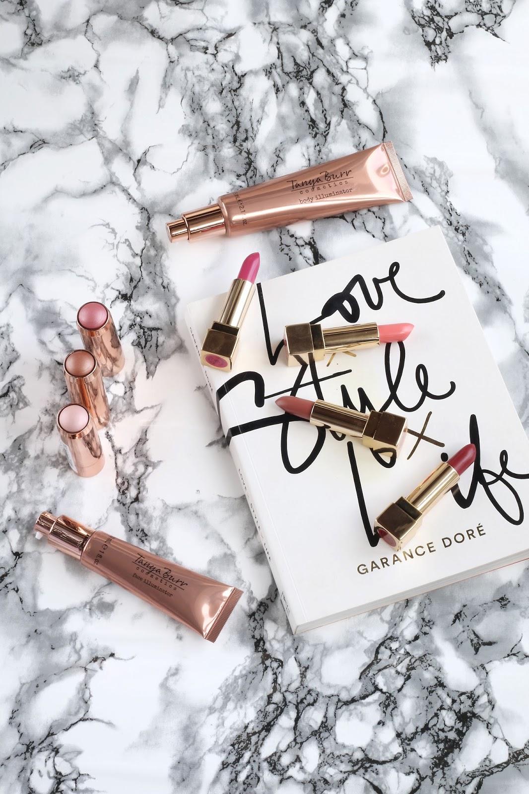Beauty, Drugstore, Feel Unique, Tanya Burr Cosmetics, Tanya Burr, Tanya burr cosmetics review. tanya burr autumn cosmetics range, charlottle tilbiury, highlighter.
