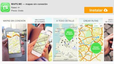 2. aplicaciones gps Smartphone internet
