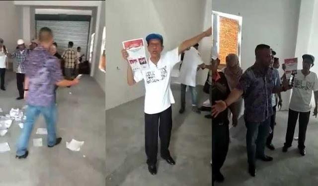 Kecurangan Malaysia, Mesin Fitnah 01 Mau Salahkan 02